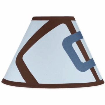 Sweet JoJo Designs Geo Blue Lamp Shade
