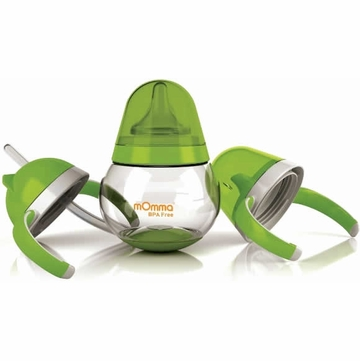Lansinoh mOmma Developmental Drink Set - Green