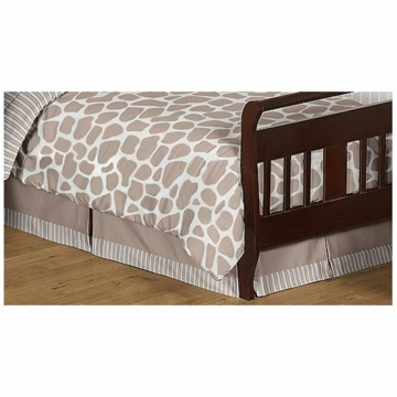 Sweet JoJo Designs Giraffe Toddler Bed Skirt