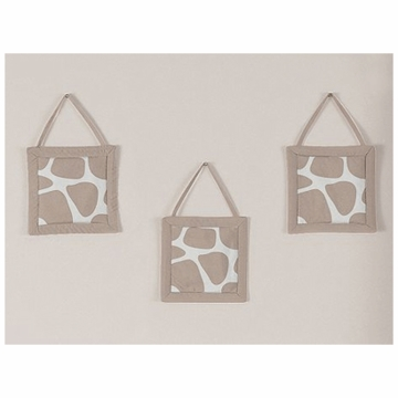 Sweet JoJo Designs Giraffe  Wall Hangings