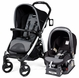 Peg Perego Book & Viaggio Travel System - Stone (Black)