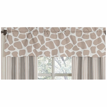 Sweet JoJo Designs Giraffe Window Valance