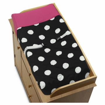Sweet JoJo Designs Hot Dot Changing Pad Cover