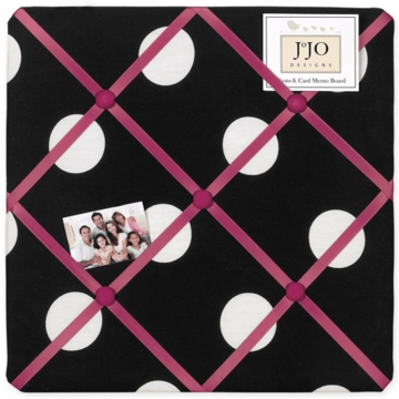 Sweet JoJo Designs Hot Dot Fabric Memo Board