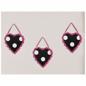 Sweet JoJo Designs Hot Dot Wall Hangings