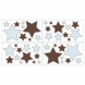 Sweet JoJo Designs Hotel Blue & Brown Wall Decals