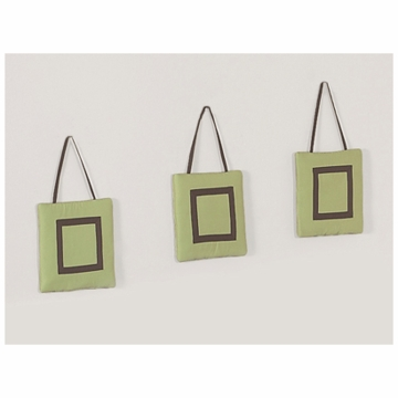 Sweet JoJo Designs Hotel Green & Brown Wall Hangings