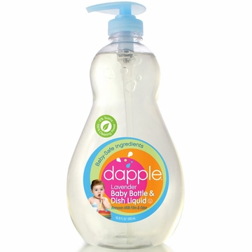 Dapple Baby Bottle & Dish Liquid - Lavender - 16.9oz