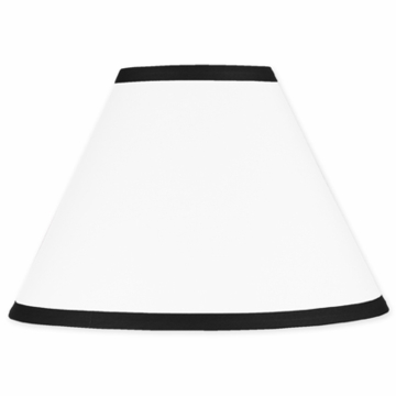 Sweet JoJo Designs Hotel White & Black Lamp Shade