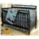 DaVinci Emily 4-in-1 Convertible Crib in Ebony Black