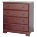DaVinci Kalani Four Drawer Dresser Cherry
