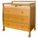 DaVinci Kalani Three Drawer Changer Oak