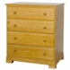 DaVinci Kalani Four Drawer Dresser Oak