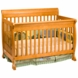 DaVinci Kalani 4-in-1 Convertible Crib Honey Oak