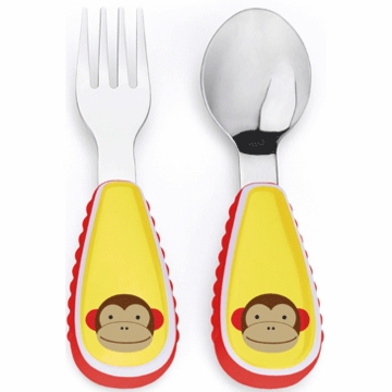 Skip Hop ZOO Utensil Set - Monkey
