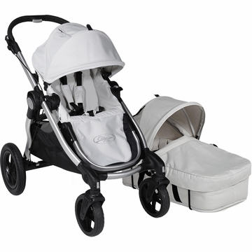 Baby Jogger City Select Stroller with Bassinet Kit in Diamond