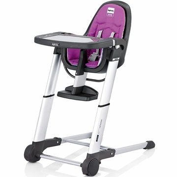Inglesina 2013 Zuma Gray High Chair - Pink