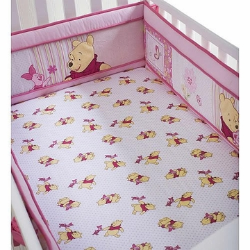 Disney So Sweet Pooh Fitted Sheet