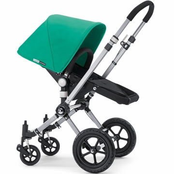 Bugaboo Cameleon Plus - Grey Base / Jade Fabric