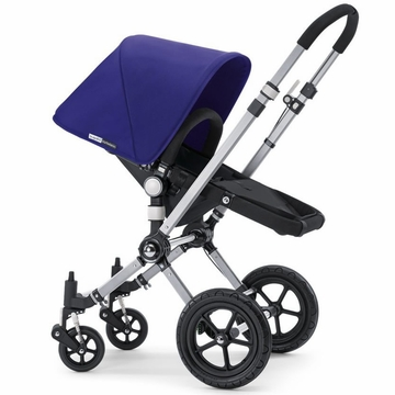 Bugaboo Cameleon Plus - Grey Base / Electric Blue Fabric