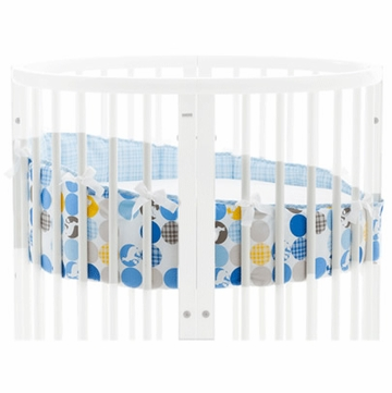 Stokke Sleepi Mini Bumper in Silhouette Blue