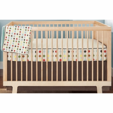 Skip Hop Mod Dots 4 Piece Crib Bedding Set with Wall Decals