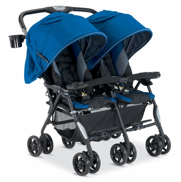 Combi Cosmo Twin Stroller - Royal Blue