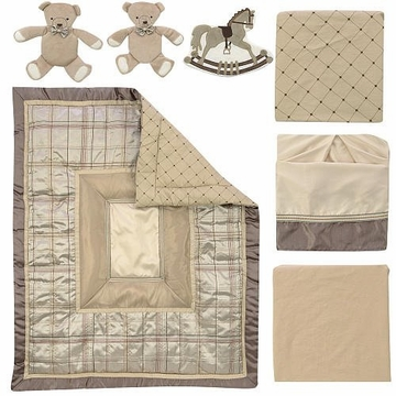 FAO Schwarz Manhattan 7-Piece Crib Bedding Set