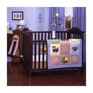 Carter's Transportation 5 Piece Crib Set