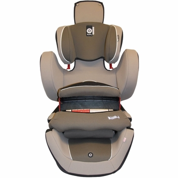 Kiddy World Plus Car Seat in Walnut