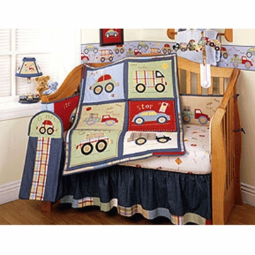 KidsLine Little Traveler 6 Piece Bedding Set