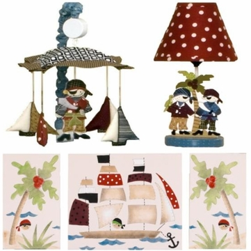Cotton Tale Designs Pirates Cove D�cor Kit