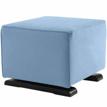 Monte Design Luca Ottoman in Light Blue