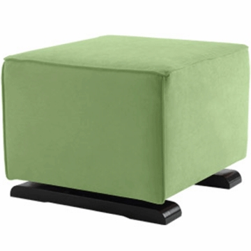 Monte Design Luca Ottoman in Lime Green