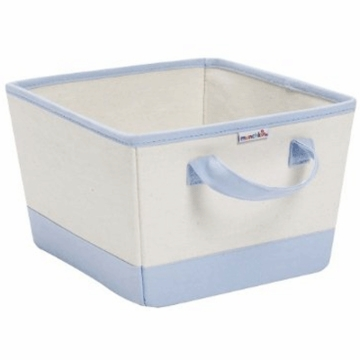 Munchkin Canvas Nursery Bin in Blue 42434