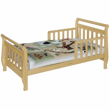 DaVinci Sleigh Toddler Bed Natural