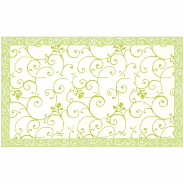 The Rug Market Rug - Fairies-4 White & Green