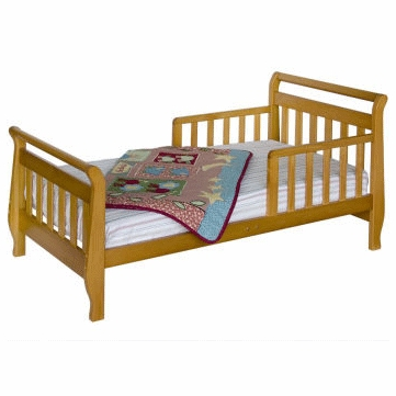 DaVinci Sleigh Toddler Bed Oak