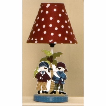 Cotton Tale Designs Pirates Cove Decorator Lamp & Shade