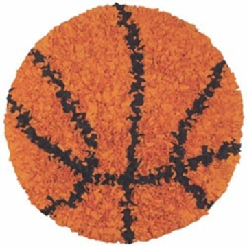 The Rug Market Shaggy Rug - Basketball
