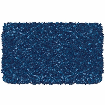 The Rug Market Shaggy Rug in Dark Blue