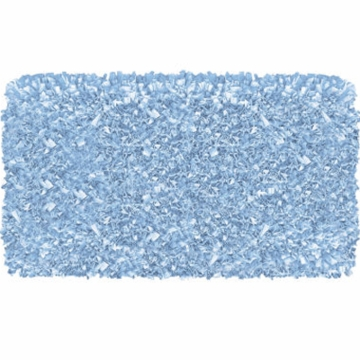 The Rug Market Shaggy Rug in Light Blue