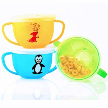 Mossworld Snack Trap Anti-Spill Snack Cup- 2 Pack