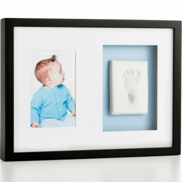 Pearhead Babyprints Wall Frame in Black