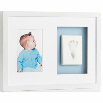 Pearhead Babyprints Wall Frame in White