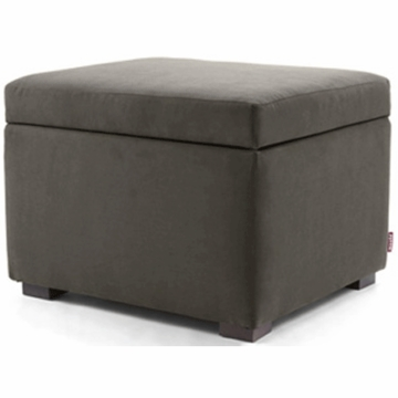 Monte Design Alto Ottoman in Charcoal
