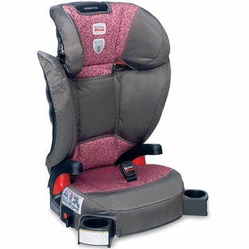 Britax Parkway SGL 2013 / 2014 Belt Positioning Booster Seat - Cub Pink