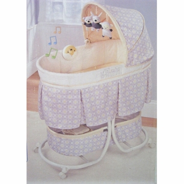 Summer Infant Cuddly Crew Soothing Bassinet