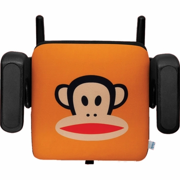Clek Olli Booster Seat - Paul Frank Standard Julius Orange