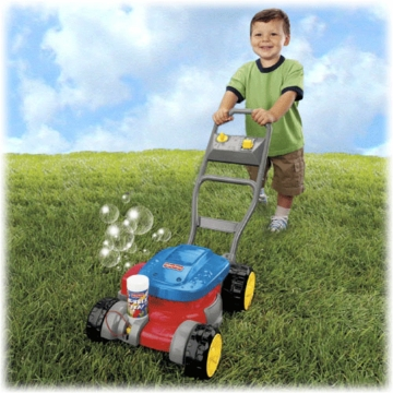Fisher-Price Bubble Mower Restage